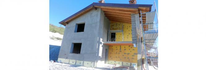 Casa Carrea. Nuova costruzione: progettazione impianti e involucro ad alta efficienza energetica