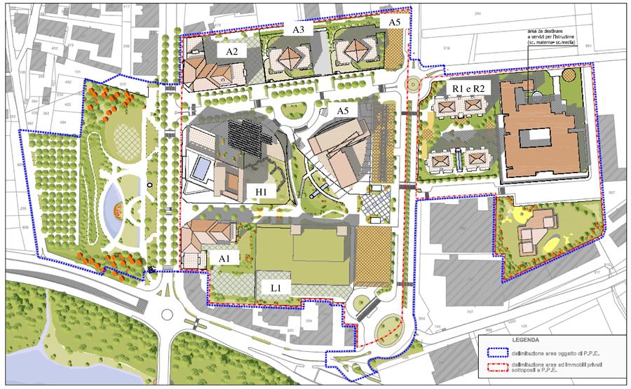 nuovo quartiere residenziale progettazione acustica e