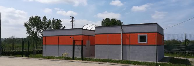 Impianto sportivo, Mirabello Monferrato, AL.